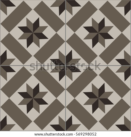 patterned floor and wall tiles modern decor of the traditional encaustic technique ceramic decorative - Decorative Tile