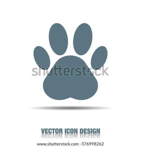 paw vector icon