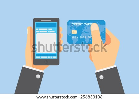Pay with credit card for buy anything you want.