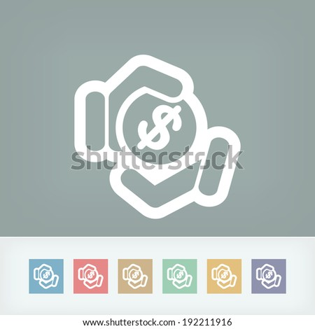 Payment icon - stock vector