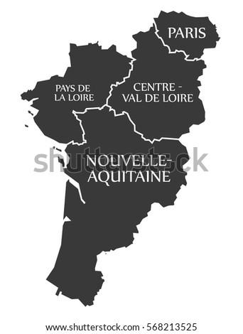Pays De La Loire Paris Centre Stock Photo Photo Vector