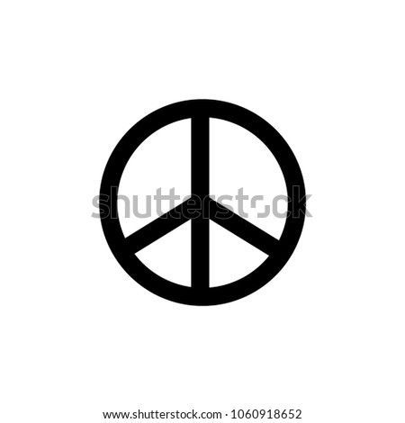 Peace icon sign template stock vector royalty free 1060918652 peace icon sign template maxwellsz