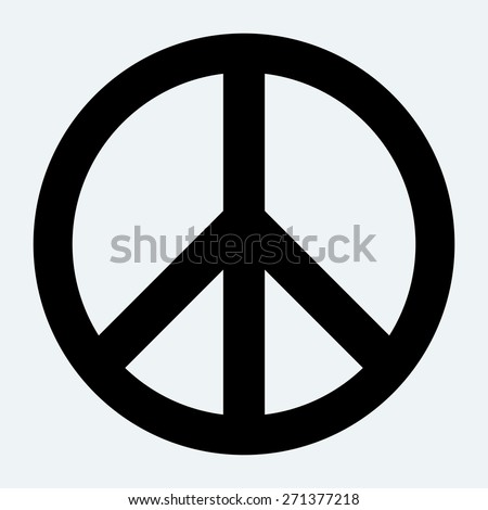 peace sign stock photo photo vector illustration 271377218 rh shutterstock com vector peace sign free peace sign vector art