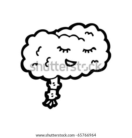 peaceful mind cartoon - stock vector