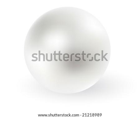 Pearl. - stock vector