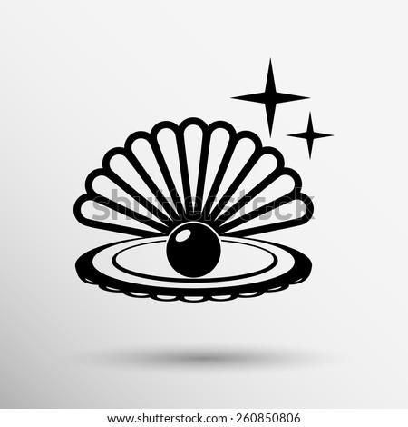 pearl vector symbol