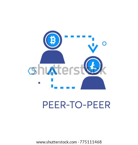 Peer To Vector Icon