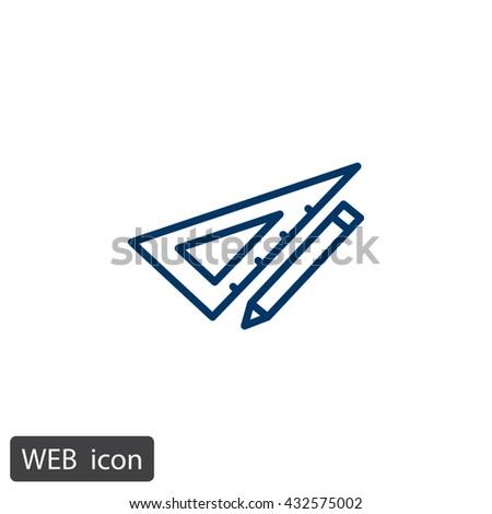 Pencil icon, pencil icon eps 10, pencil icon vector, pencil icon illustration, pencil icon jpg, pencil icon picture, pencil icon flat, pencil icon design, pencil icon web, pencil icon art - stock vector