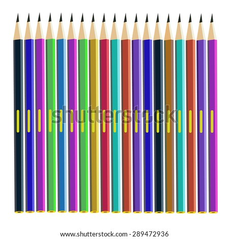pencil vector yellow illustration school office object