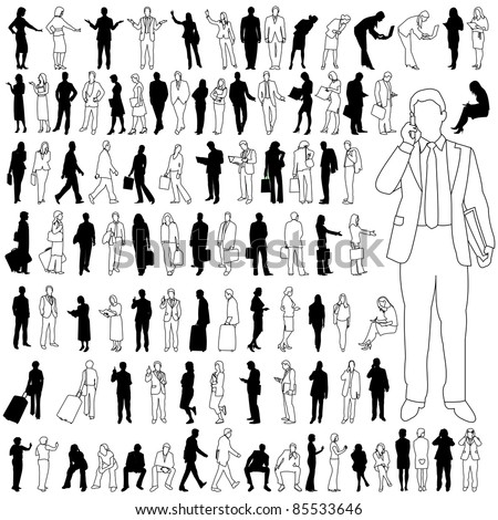 People - Business - Large Set 02