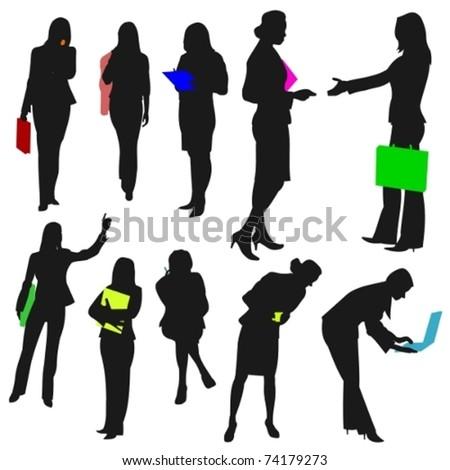 People - Business Women No.2. - stock vector