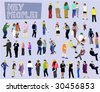 People Collection - Vector Illustration - stock photo