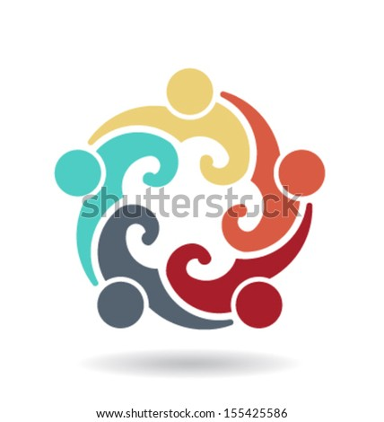 People Group 4 - blog- icon vector - stock vector
