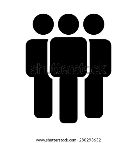 people icon vector stock vector 280293632 shutterstock rh shutterstock com Infographic People Icons Infographic People Icons