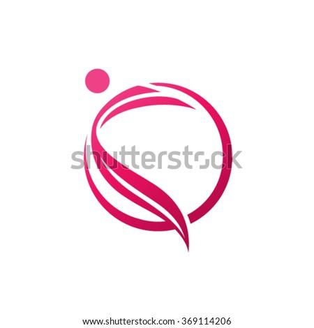 People Logo Design Template. - stock vector