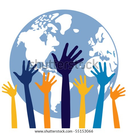 People of the world vector. - stock vector