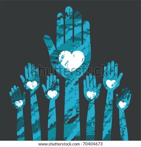 People united vector. - stock vector