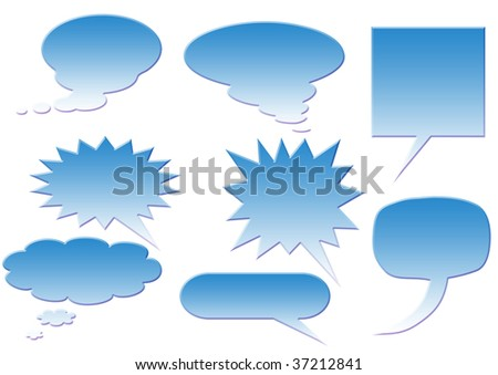 Perfect for adding your own text or icons. Blends used to create drop shadow effect. - stock vector