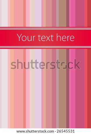 Perfect vector book cover with japanese line theme - stock vector