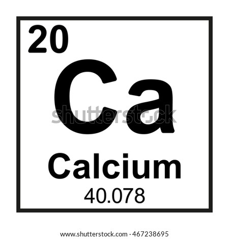 Periodic table element calcium stock vector 467238695 shutterstock periodic table element calcium urtaz Gallery