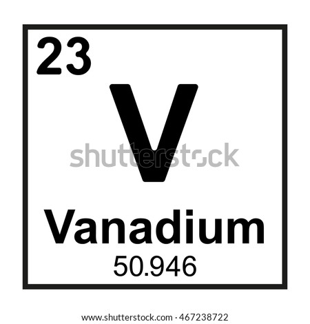 Periodic table element vanadium stock vector 467238722 shutterstock periodic table element vanadium urtaz Choice Image