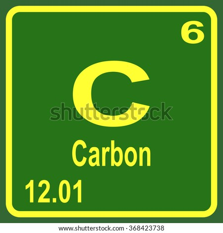 Periodic table elements carbon stock vector 368423738 shutterstock periodic table of elements carbon urtaz Image collections