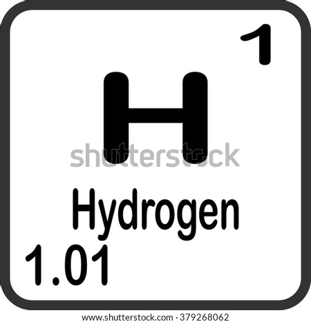 Periodic table elements hydrogen stock photo photo vector periodic table of elements hydrogen urtaz Gallery