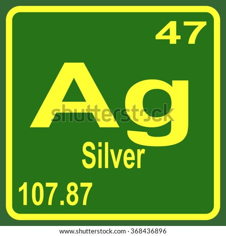 Periodic table elements silver stock vector 390775012 shutterstock periodic table of elements silver urtaz Choice Image