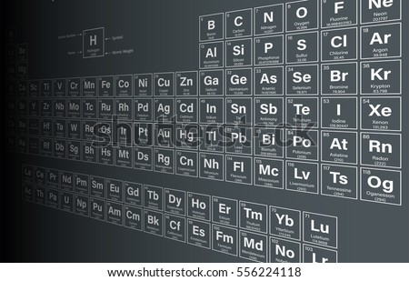 Periodic table elements including nihonium moscovium stock vector periodic table of the elements including nihonium moscovium tennessine and oganesson in perspective view urtaz Images
