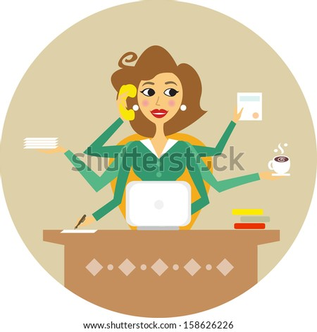 personal assistant stock images royalty free images vectors