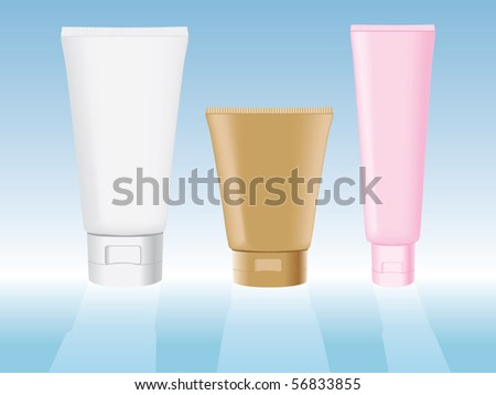 Personal hygiene products vector - stock vector