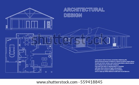 Perspective 3d Floor Plan Cross Section Stock Vector 559418845