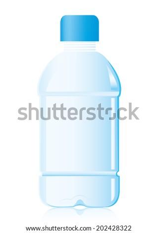 pet bottle Vector  - stock vector