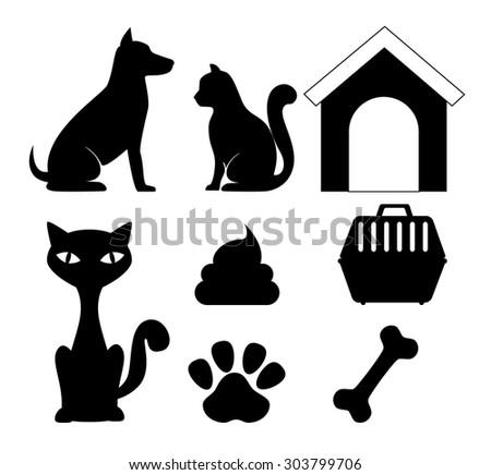 Pet digital design, vector illustration eps 10. - stock vector