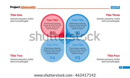 Petal Diagram Slide Template Stock Vector 462417142 - Shutterstock
