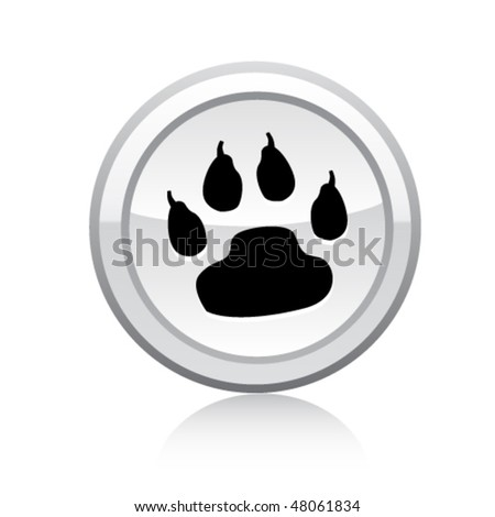 Pets icon - stock vector