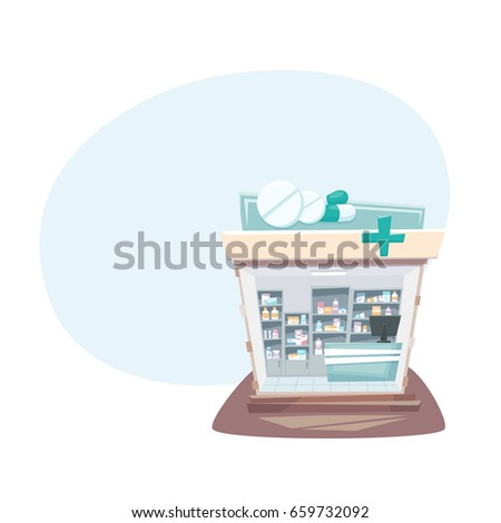 Drugstore interior shutterstock for Find a local builder