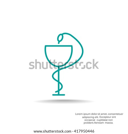 pharmacy snake symbol stock images royaltyfree images