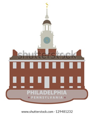 Philadelphia. Symbol city