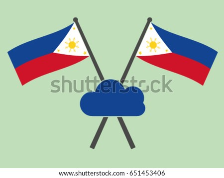 Philippines Emblem Cloud Computing