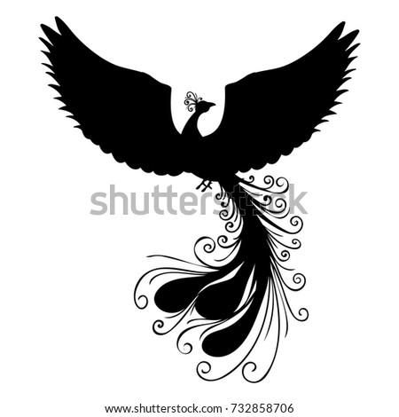 Mythical Phoenix Bird Stock Images, Royalty-Free Images ... - photo#39