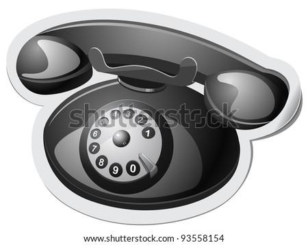 Phone - stock vector