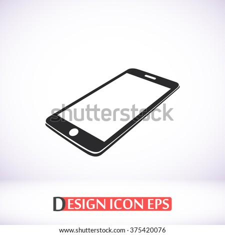 Phone icon - stock vector