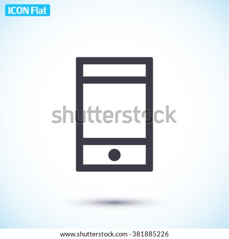 Phone Icon, phone icon flat, phone icon picture, phone icon vector, phone icon EPS10, phone icon graphic, phone icon object, phone icon JPEG, phone icon picture, phone icon image, phone icon drawing - stock vector