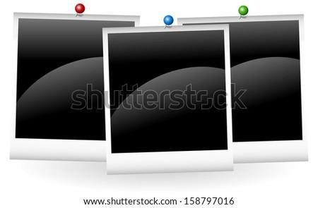 Photo frame. - stock vector