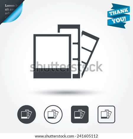 photo frame template sign icon photo stock vector hd royalty free