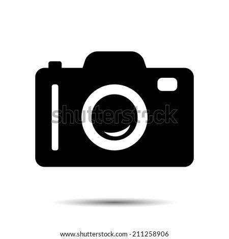 Photo or Camera Icon. Vector - stock vector