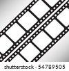 Photograph film vector background - stock vector