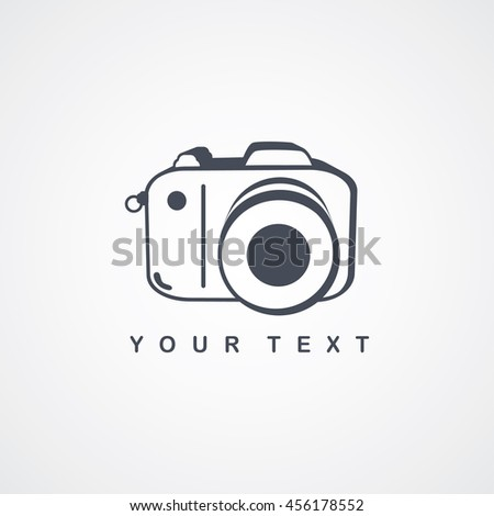 photography logo - camera theme logotype