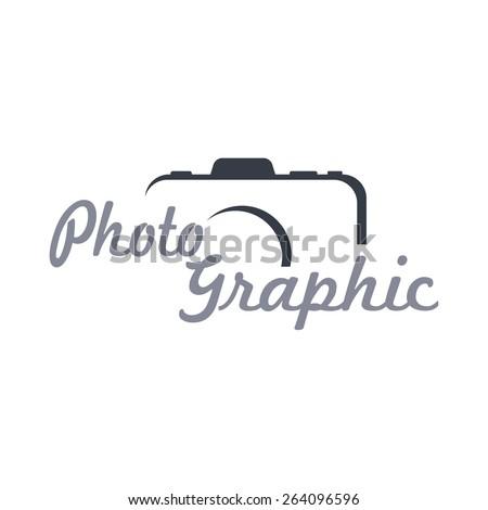 photography - logo template - stock vector
